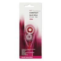 Tombow Ct-Cg5 Compact Şerit Silici (5 Mm x 10 Mt) Renk - Pembe
