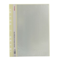 Tranbo P1110 A4 Katalog Dosya Klasöre Takılabilir 10'lu Renk - Sarı
