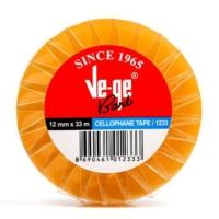 Ve-Ge 12 x 33 Mt Cellulose Bant (Selefon)
