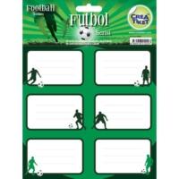 Crea Tiket 1020 Futbol Serisi Okul Etiketi