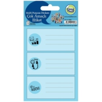 Crea Tiket 1056 Çok Amaçlı Etiket Sticker