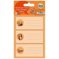 Crea Tiket 1057 Çok Amaçlı Etiket Sticker