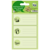 Crea Tiket 1055 Çok Amaçlı Etiket Sticker
