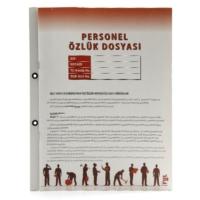 Full Color Personel Özlük Dosyası 8 Yaprak