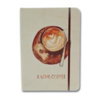 Notelook I Love Latte Coffee A6 Çizgili Defter