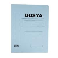 Ofix Karton Dosya Tam Kapak 10'lu Renk - Mavi