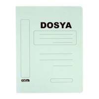 Ofix Karton Dosya Tam Kapak 10'lu Renk - Yeşil