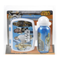 Disney Star Wars Aliminyum Matara Ve Kutu Set