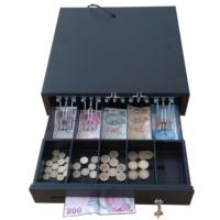 İngenico iDE280-iWE280 ile Tam Uyumlu Yazarkasa Pos Para Çekmecesi 5 Banknot 5 Bozuk Para Bölmeli Yazar Kasa Çekmecesi