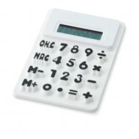 Pf Concept 12345402 Silikon Hesap Makinası Beyaz