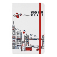 Tk Collection England Orta Boy Defter