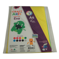 Craft And Arts Eva A4 Kabartma10'lu