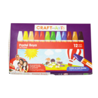 Craft And Arts Pastel Boya 12'li Karton Kutu
