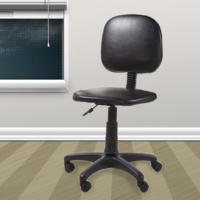 Depolife Kolsuz Ofis Koltuğu Sandalye Siyah