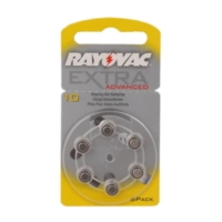 Rayovac 10 Numara Kulaklık Pili 6'lı Paket