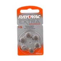 Rayovac 13 Numara Kulaklık Pili 6'lı Paket
