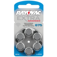 Rayovac 675 Numara Kulaklık Pili 6'lı Paket