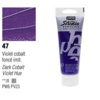Pebeo Studio Akrilik Boya 100 Ml Dark Cobalt Violet -47