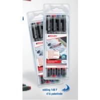 Edding Asetat Kalemi Edding 148 F 4'Lü Paket
