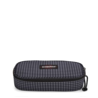 Eastpak Oval Single (Gingham Grey) Kalem Kutusu