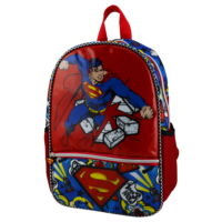 Superman Punch Anaokulu Çanta Tek Gözlü