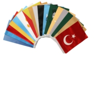 Bayrakal Eski Türk Devletleri Bayrağı 27 Adet