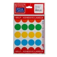 Tanex Ofc-132 Mix Color Ofis Etiketi 5 Adet