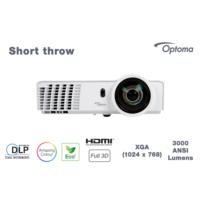 Optoma X305ST 3000 Ansilümen XGA 18.000:1 HDMI Projeksiyon Cihazı