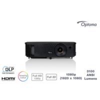 Optoma EH330 3100 Ansilümen Full HD 22.000:1 HDMI Projeksiyon Cihazı