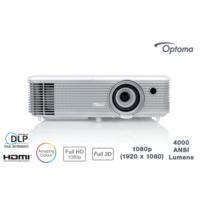 Optoma EH400 4000 Ansilümen Full HD 22.000:1 HDMI Projeksiyon Cihazı