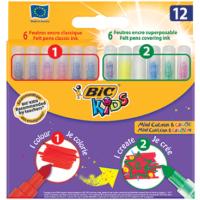Bic Kids Mini Colour Create Keçeli Kalem 12 Renk