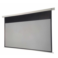 Gamma Screens 213x120 Kontrast Gri Motorlu Projeksiyon Perdesi