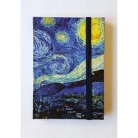 Köstebek Vincent Van Gogh - Yıldızlı Gece Defter