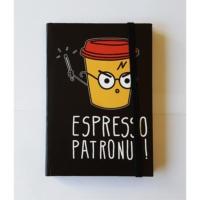 Köstebek Harry Potter - Espresso Patronum Defter