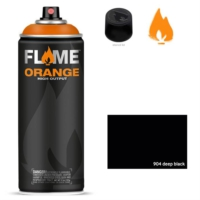 Flame Sprey Boya 400 ML Fo-904 Deep Black
