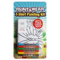 Paint&Wear Kelebek Boyama T-Shirt 7-8