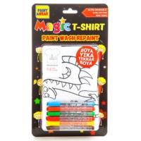 Paint&Wear Dinozor Ailesi Boyama T-Shirt 9-11