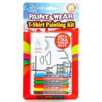 Paint&Wear Kız Kulesi Boyama T-Shirt 9-11