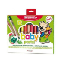 Fibracolor Baby Pastel Boya 12 Renk 10020