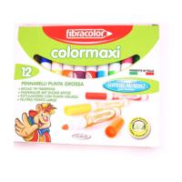 Fibracolor Subazlı Jumbo Keçeli Kalem 12 Renk 10640