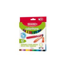 Fibracolor Coloritone 12 Renk Keçeli Kalın Kalem 19540