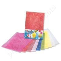 Folia Fiber İpek (Vlies) Kağıt 23X33 Cm Altın İplikli 10 Renk 970409