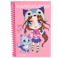 Top Model Manga Çıkartma Defteri 8517