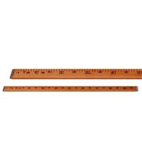 Cok Amaçlı Ahşap-Tahta Cetvel 1 Metre (100cm)