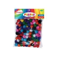 Ticon Metalik Pom Pom 10 Mm 100 Adet