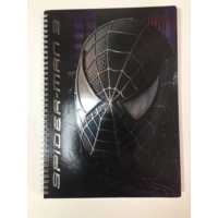 Spiderman 3 80 Yaprak Kareli Defter (21*29.7)