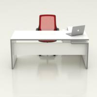 Tefrishop Sandy 160 Ofis Masa Takımı(Beyaz)