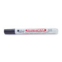 Snowman Marker G-12T Plastik Gövde Kesik Uç Siyah