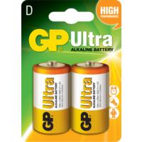 GP Ultra Alkalin 2'li D Boy Kalın Pil (GP13AU-2U2)