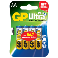 GP Ultra Plus Alkalin 4'lü  AA Boy Kalem Pil (GP15AUP-U4)